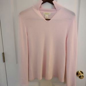 Peck and peck 2ply 100% cashmere sweater